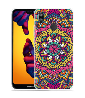 Just in Case Huawei P20 Lite Hoesje Mandala Hippie