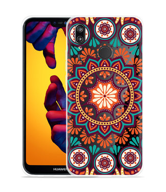 Just in Case Huawei P20 Lite Hoesje Retro Mandala