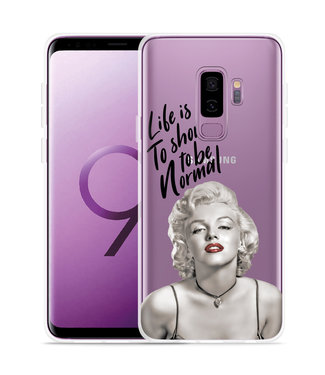 Just in Case Galaxy S9 Plus Hoesje Life is too Short