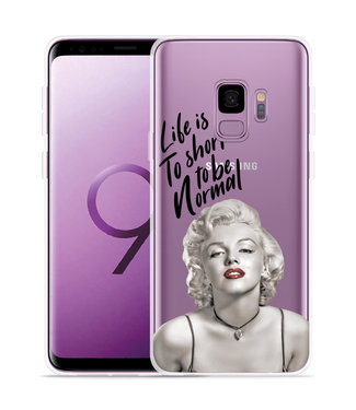 Just in Case Galaxy S9 Hoesje Life is too Short