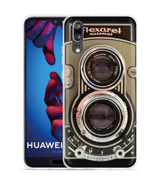 Just in Case Huawei P20 Hoesje Flexaret Automat