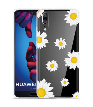 Just in Case Huawei P20 Hoesje Madeliefjes