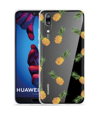 Just in Case Huawei P20 Hoesje Ananas