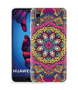 Just in Case Huawei P20 Hoesje Mandala Hippie