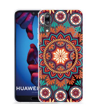 Just in Case Huawei P20 Hoesje Retro Mandala