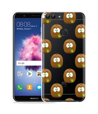Just in Case Huawei P Smart Hoesje Crazy Kiwi