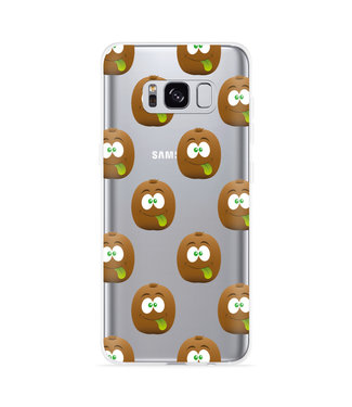 Just in Case Galaxy S8 Hoesje Crazy Kiwi