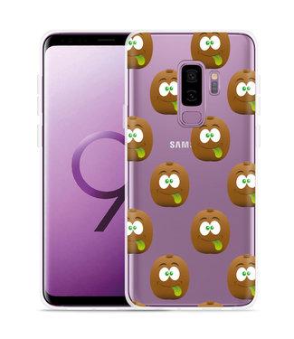 Just in Case Galaxy S9 Plus Hoesje Crazy Kiwi