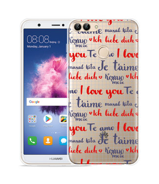 Just in Case Huawei P Smart Hoesje I Love you