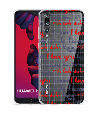 Just in Case Huawei P20 Pro Hoesje I Love you