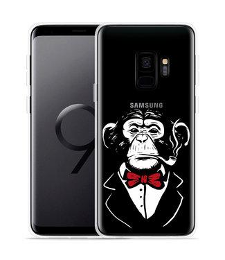 Just in Case Galaxy S9 Hoesje Chimp Smoking