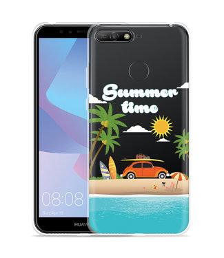 Just in Case Huawei Y6 2018 Hoesje Summer Time