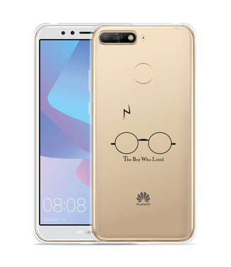 Just in Case Huawei Y6 2018 Hoesje The Boy Who Lived