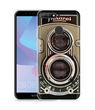 Just in Case Huawei Y6 2018 Hoesje Flexaret Automat