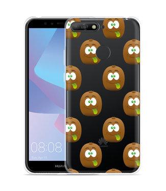 Just in Case Huawei Y6 2018 Hoesje Crazy Kiwi
