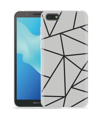 Just in Case Huawei Y5 2018 Hoesje Triangles