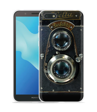 Just in Case Huawei Y5 2018 Hoesje Welta Perfekta