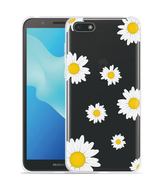 Just in Case Huawei Y5 2018 Hoesje Madeliefjes