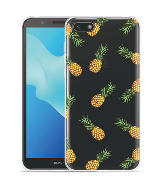Just in Case Huawei Y5 2018 Hoesje Ananas