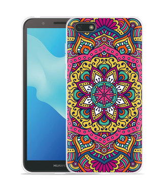 Just in Case Huawei Y5 2018 Hoesje Mandala Hippie