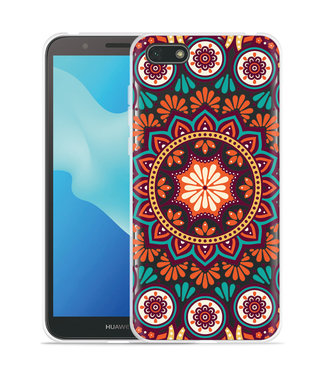 Just in Case Huawei Y5 2018 Hoesje Retro Mandala