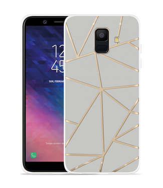 Just in Case Galaxy A6 2018 hoesje Triangles