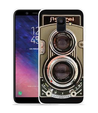 Just in Case Galaxy A6 2018 hoesje Flexaret Automat
