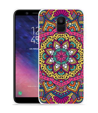 Just in Case Galaxy A6 2018 hoesje Mandala Hippie