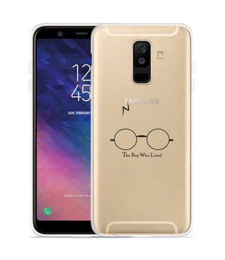 Just in Case Galaxy A6 Plus 2018 hoesje The Boy Who Lived