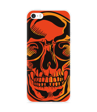 Just in Case iPhone 5/5S/SE Hoesje Red Skull