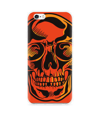 Just in Case iPhone 6 Plus/6S Plus Hoesje Red Skull