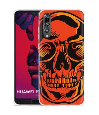 Just in Case Huawei P20 Pro Hoesje Red Skull