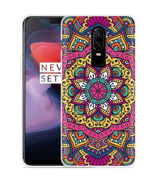 Just in Case OnePlus 6 Hoesje Mandala Hippie