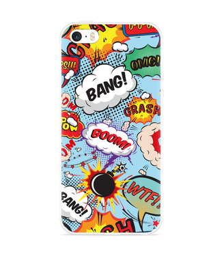Just in Case iPhone 5/5S/SE Hoesje Comic