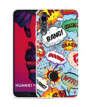Just in Case Huawei P20 Pro Hoesje Comic