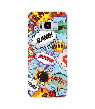 Just in Case Galaxy S8 Hoesje Comic