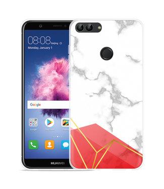 Just in Case Huawei P Smart Hoesje Trendy Marmer