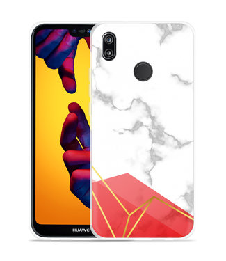 Just in Case Huawei P20 Lite Hoesje Trendy Marmer