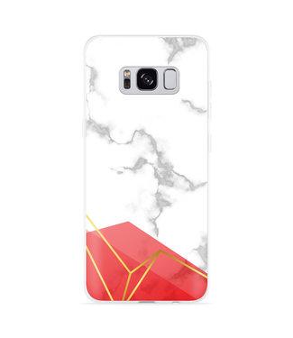 Just in Case Galaxy S8 Hoesje Trendy Marmer
