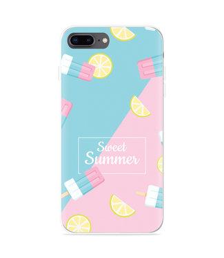 Just in Case iPhone 8 Plus Hoesje Sweet Summer