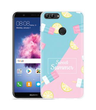 Just in Case Huawei P Smart Hoesje Sweet Summer