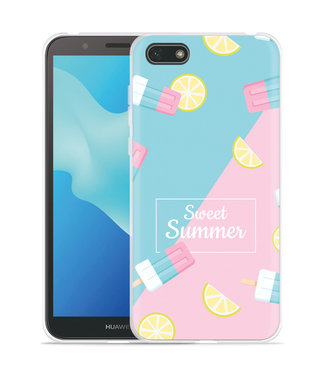 Just in Case Huawei Y5 2018 Hoesje Sweet Summer
