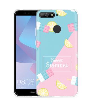 Just in Case Huawei Y6 2018 Hoesje Sweet Summer
