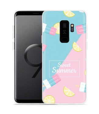 Just in Case Galaxy S9 Plus Hoesje Sweet Summer