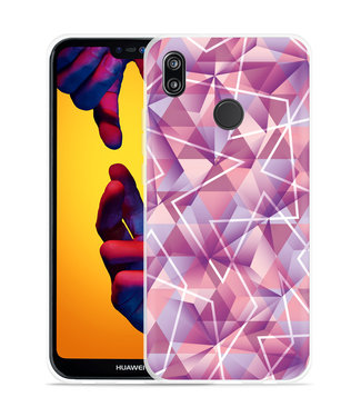 Just in Case Huawei P20 Lite Hoesje Art Work