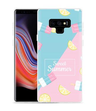 Just in Case Galaxy Note 9 Hoesje Sweet Summer