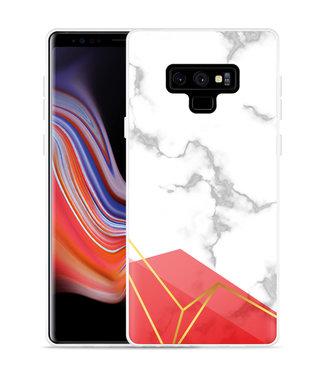 Just in Case Galaxy Note 9 Hoesje Trendy Marmer