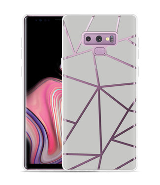 Just in Case Galaxy Note 9 Hoesje Triangles