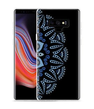 Just in Case Galaxy Note 9 Hoesje Turqoise Mandala