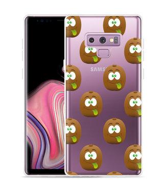 Just in Case Galaxy Note 9 Hoesje Crazy Kiwi